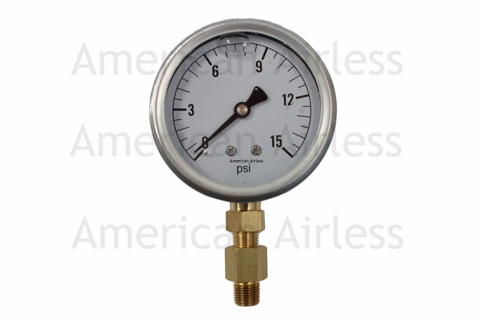 Ha1180 heater pressure gauge 0 15 psi 2 face glycerin for Alpine cuisine bs 400 propane burner