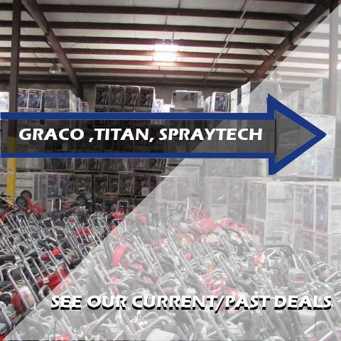 Graco Magnum Titan SprayTech Sprayers