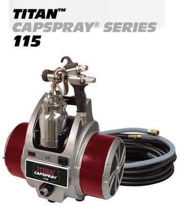 New Capspray 115 Airless Paint Sprayer