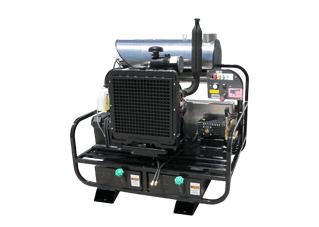 Pro-Super Skid Diesel Engine V-Belt Drive 12v Models 4000 psi 7 0