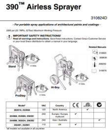 390 Parts