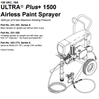1500 Ultra Plus Parts
