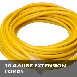 10 Gauge Extension Cords