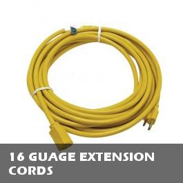 16 Gauge Extension Cords