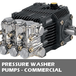Pressure Washer Pumps - Commercial