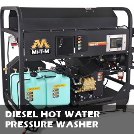 Diesel Hot Water Pressure Washers