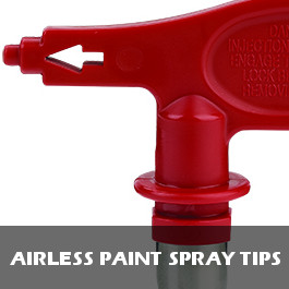 Airless Paint Spray Tips