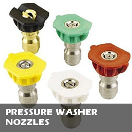 Pressure Washer Nozzles / Rotating Turbo Nozzles