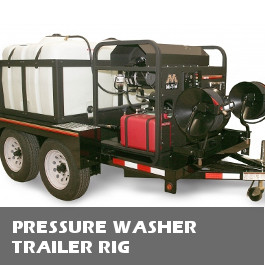 Pressure Washer Trailer Rigs