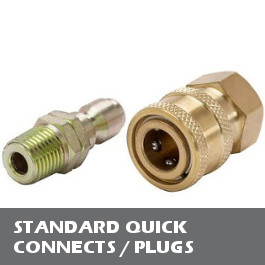 Standard Quick Connects / Plugs