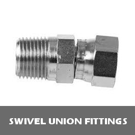 High Pressure Steel Swivel Union Fitting