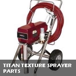 Titan Texture Sprayer Parts