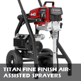 Titan Fine Finish Air-Assisted Sprayers