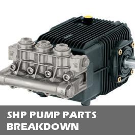 SHP Pump Parts Breakdown